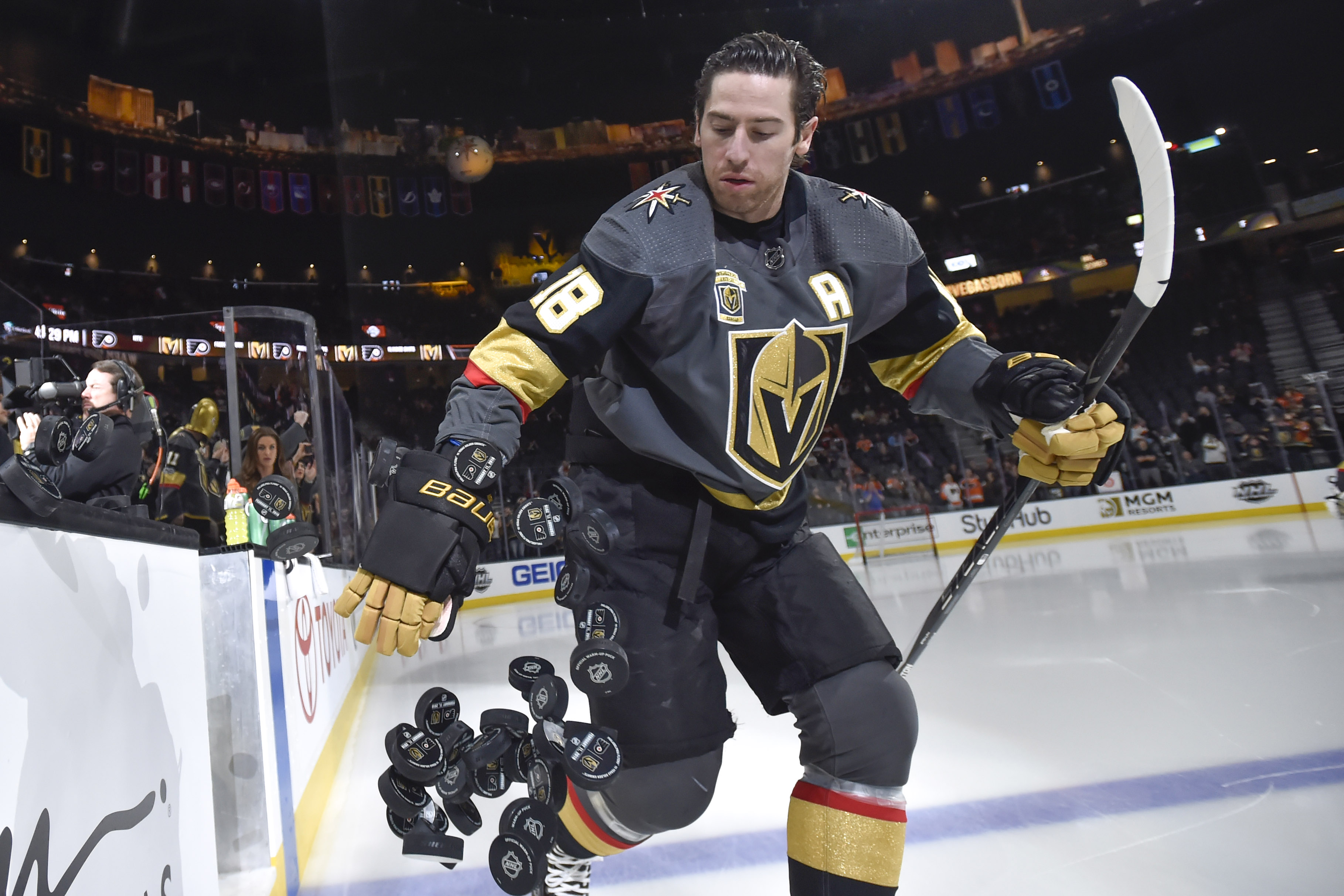 Vegas Golden Knights Reportedly Shopping James Neal?